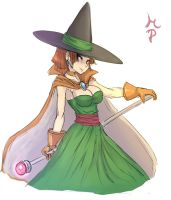 Female Wizard DQ3 by ManiacPaint