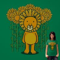 Sunflower and Lion (Camouflage) by fathi-dhia
