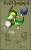 Tamborine the Snivy by Nestly