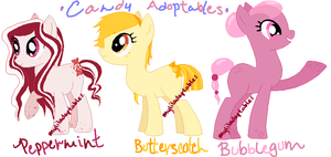 MLP- Sweet Candy Adoptables - CLOSED by MyLilAdoptables