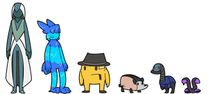 Unusual suspects by ChestersComics