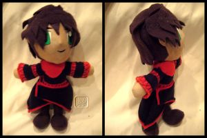 Kiera-Chy Plushie Commission by VesteNotus