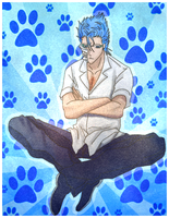 .. Grimmjow .. by nitsume