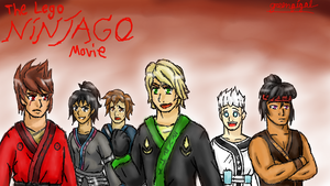 Ninjago Movie First Photo Redraw by greengigal