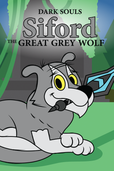 Siford the Great Grey Wolf (Phone Background) by T-3000