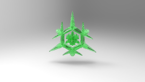 Emerald Snowflake by Tate27kh