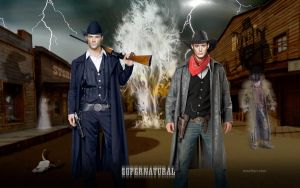 SPN Ghost Town WS by macfran