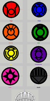 [GS to MMD] DC Lantern Symbols WIP by karmaCholeric