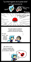 La interrogante de la pokebola by Tito-san