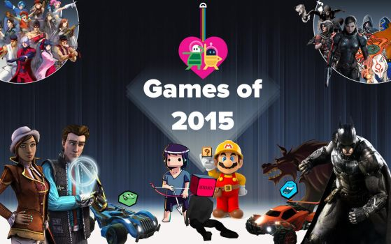 Games of 2015 by PacDuck
