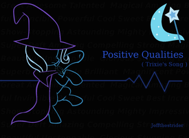 Positive Qualities Song Art by Jeffthestrider