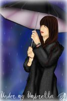 Under my umbrella by Azleas