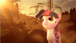 [SFM Ponies] Twilight animation and render  test by Light262