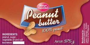 peanut butter 1 by hashwednesday