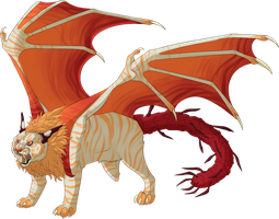 Jaspur's Full Cat Form by Kingfisher-Gryphon