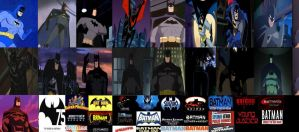 75 Years of Batman animated version by SteveIrwinFan96