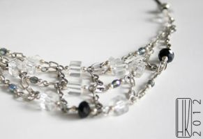 Crystal necklace by Paivatar