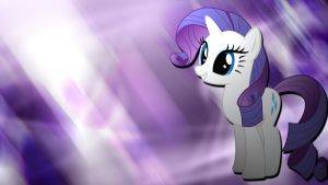 Rarity abstract by Borkky