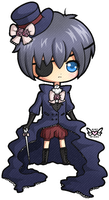 Coloured Ciel chibi by xlolfishx