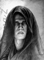 Anakin Skywalker on Mustafar by LilDevilAriel