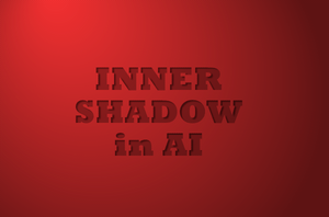 Inner Shadow in Adobe Illustrator by lazunov