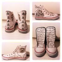 Harry Potter Sneakers by iMemii