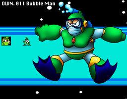 DWN. 011 Bubble Man by SonicKnight007