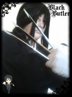 Sebastian michaelis cosplay (black butler) by yvelise