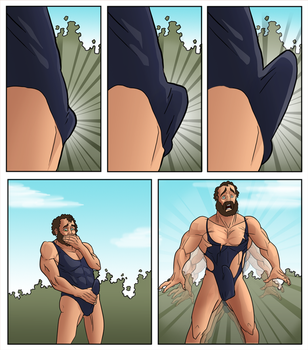 Swimsuit Transformation - 3 by humble-tg-maker