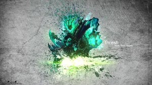 LoL - Thresh Wallpaper HD by xRazerxD