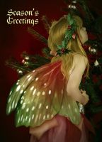 Xmas tree fairy II by iizzard