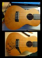Levi Ukulele WIP - Attack on Titan by Riko639