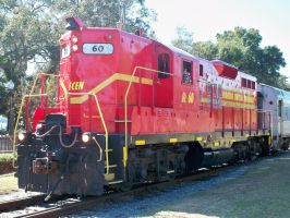 Florida Central 60, EMD GP9 by Silverwolf-1ofmany