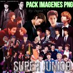 Pack imagenes png super junior by krtes2703