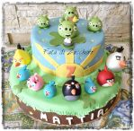 Angry Bird's cake by Dyda81