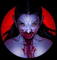 Another bloody vampire! by MikeFaille