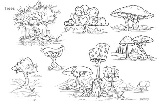 Tree concepts by Kravenous