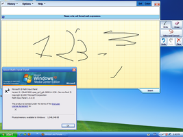 Windows 7 Math input panel by jeremyddual