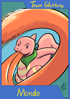 PMD-Explorers Trading Card - Mondo by cavemonster