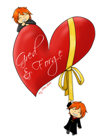 Gred and Forge Valentine by BlueberrySakura