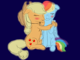 AppleDash - Innocent Love by Vasillium