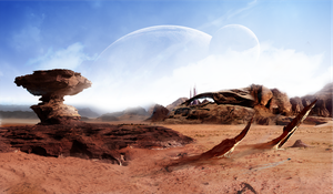 Surreal Home Planet by StefanHuerlemann