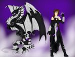 White Fire-Megan L. Pendragon by BlackDragon-Studios