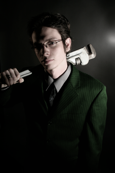Mr. Green with Wrench by capturethemoment777