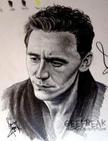 Tom Hiddleston 2 by GeeFreak