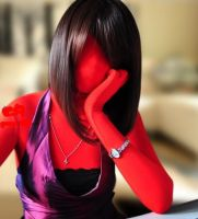 Red zentai by mysexyzentai