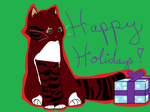 HAPPY HOLIDAYS by AllyCatGirl101