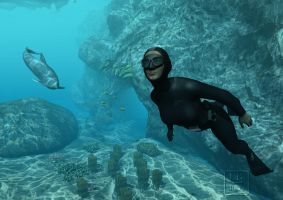 Free Diver 2 by bakerfield3