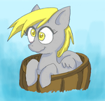 Derpy In A Barrel by RipOffManX