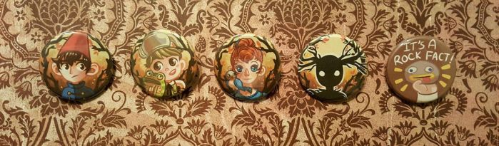 Over the Garden Wall buttons by Valen-LaRae
